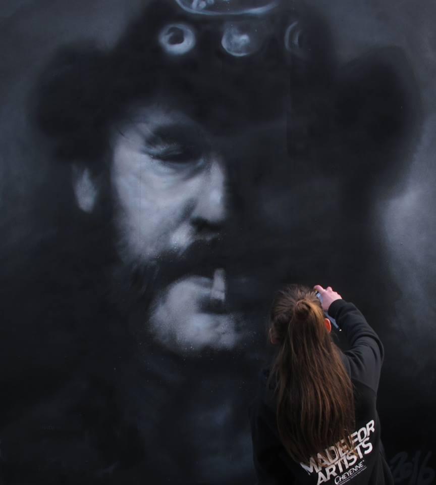 JDL Paints Mural in Greece | OHANA MAGAZINE