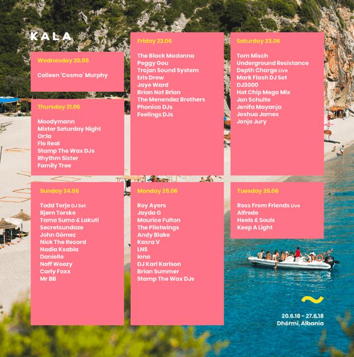 kala-setlist